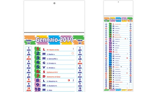 Calendario olandese LONG