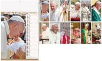 Calendario Illustrato Papa Francesco