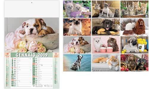 Calendario Illustrato CUCCIOLI