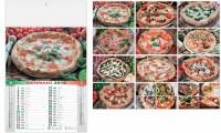 Calendario Illustrato Pizza