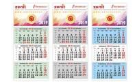Calendari Trittici cordonati.
