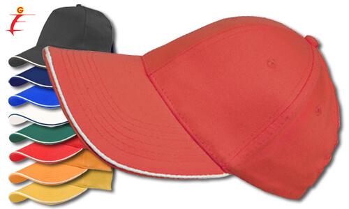 Cappellino personalizzato profilo bianco