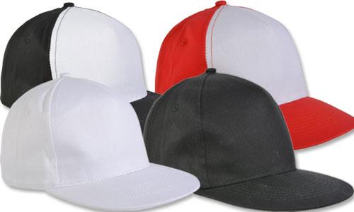 Cappellini visiera Piatta