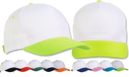 Cappellini base bianca bambino