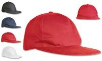 Cappellino poliestere visiera dritta
