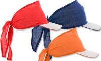 Visiera parasole con bandana