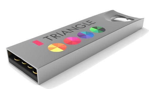 Pennette usb personalizzabili serie Triangle