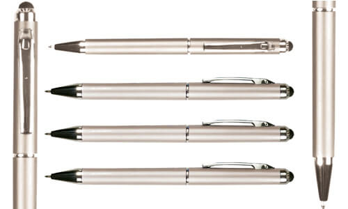 Silver Pen con touch screen serie Twist