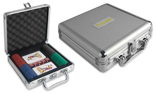 Set da gioco in valigetta