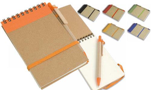 Block notes con penna 9 x 15 cm