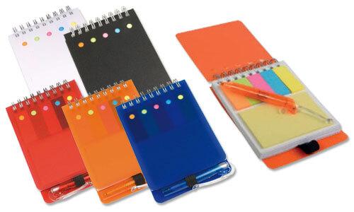 Set notes con mini penna