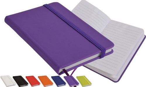 Quaderno con interno a righe - copertina rigida