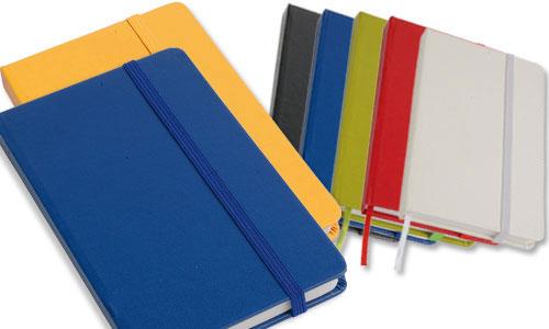 Quaderno con elastico tipo Molesckine