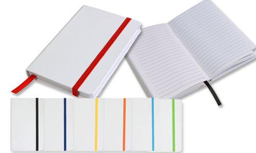 Quaderno con Elastico colorato e segna pagina