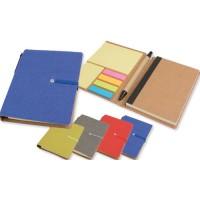 Set block notes penna e foglietti adesivi 10 x 14,5