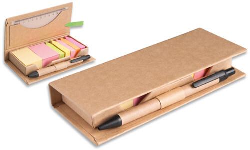 Set appunti da scrivania con Portapenne