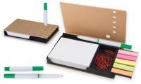 Portacarte da Scrivania, penna e graffette