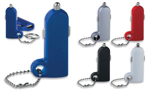 Adattatore USB auto slim