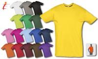 Magliette colorate personalizzate