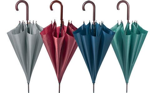 Ombrelli Puntale Manico Corpo in Legno