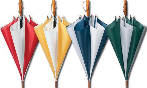Ombrelli a Spicchi Bicolore