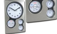 Orologio da parete con termometro