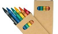 Set di Sei pastelli colorati