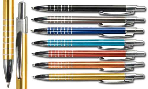 Penna in Metallo Finiture Antiscivolo