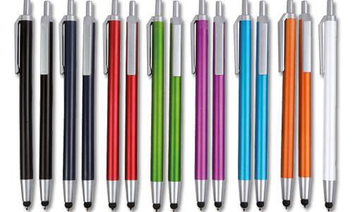 Penna touch screen colori Metalizzati