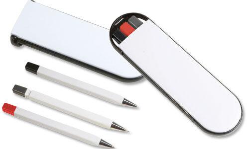 Set mini penne portamine personalizzate
