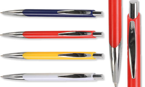 Penna a scatto corpo colori opachi