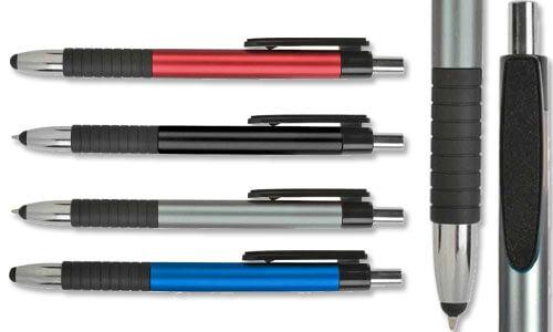 Penne con pulisci schermo integrato nella clip