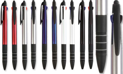 Penne con inchiostro a tre colori