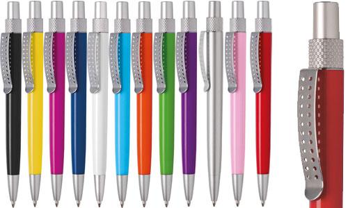 Penne plastica e Metallo Satinato