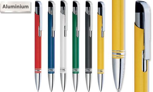 Penne serie Daisy alluminio laccato
