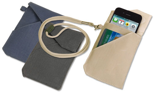 Porta smartphone da collo