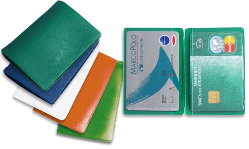 Portacards 2 tasche