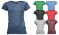 T-shirts donna, effetto Melange