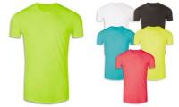 Maglietta 130gr poliestere, adatta alla sublimazione