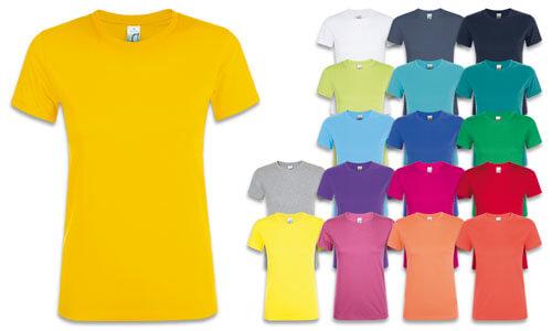Maglietta donna -  Punto vita Sfiancato