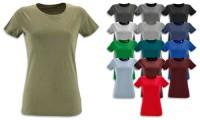 T-shirt donna, taglio Slim Fit