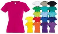 Maglietta donna cotone 190gr Taglio femminile