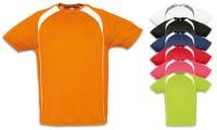 T-shirt in poliestere effetto traspirante