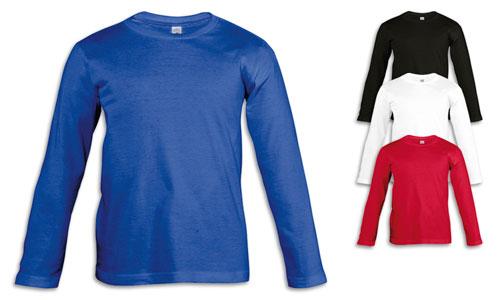 Maglietta bambino, stile classico in Jersey 170gr.